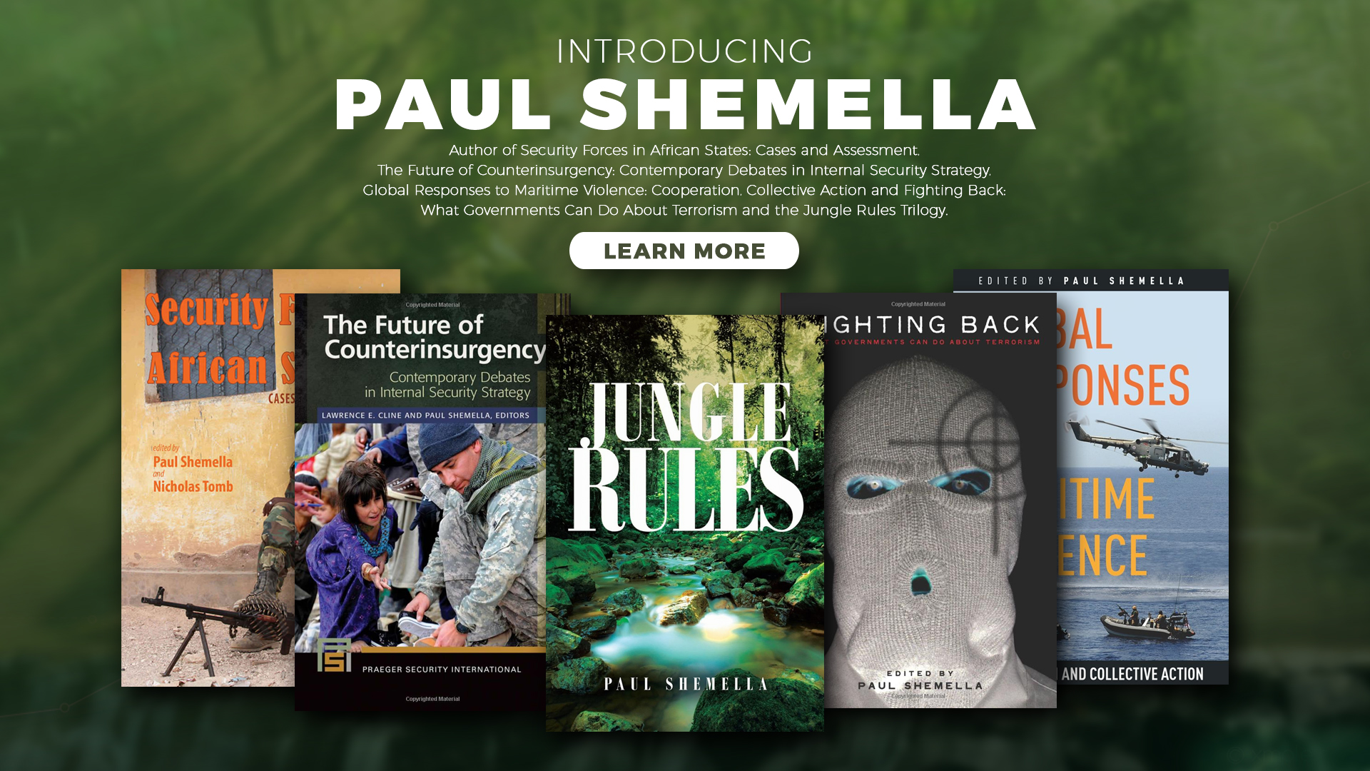 thrillers to make you think Books by Paul Shemella