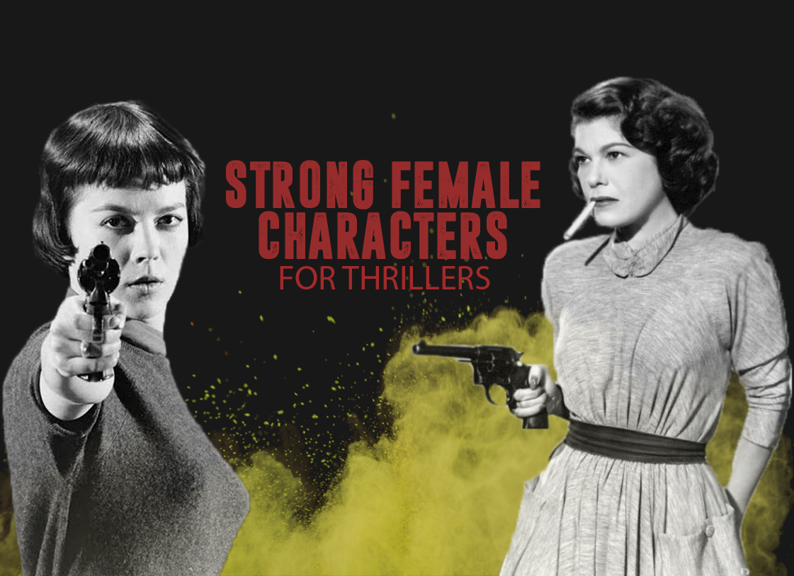 strong female characters for thrillers