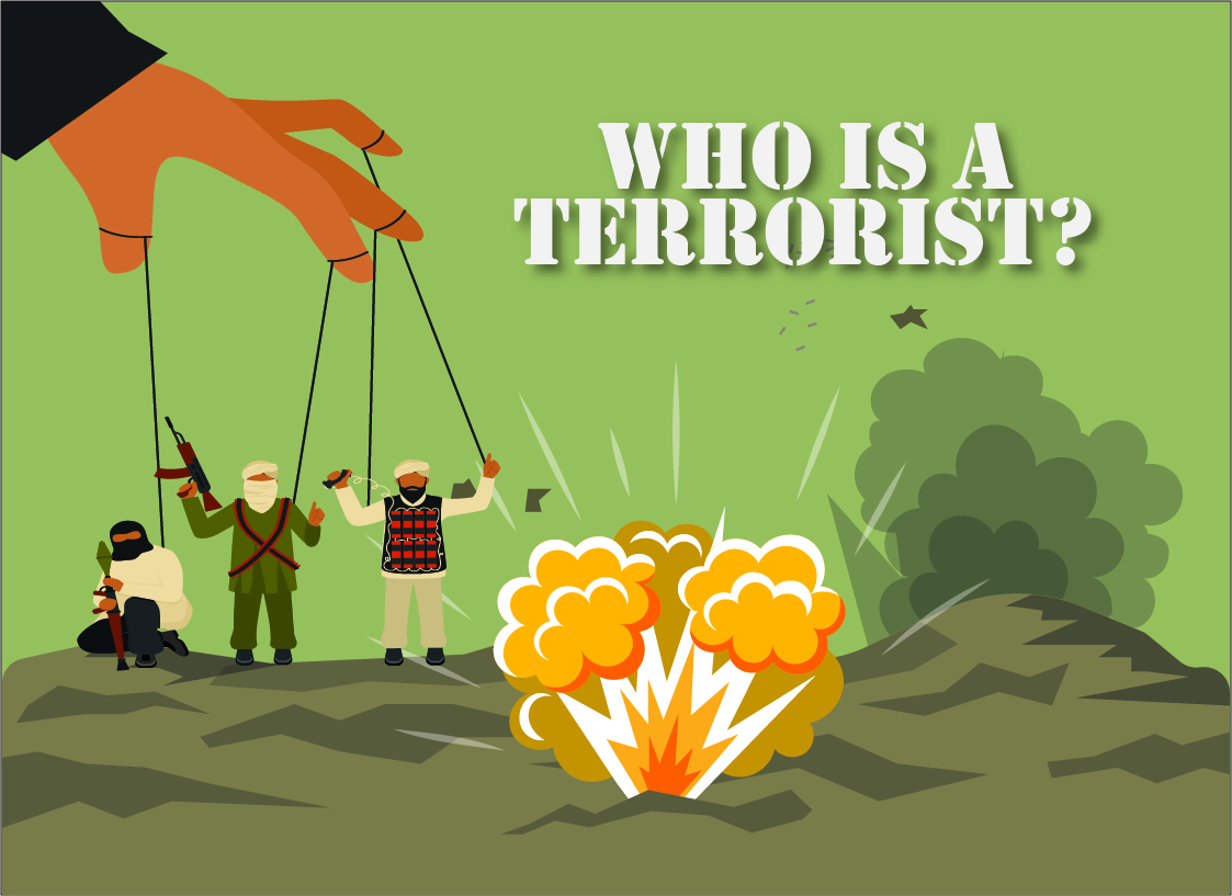 Who is a terrorist and who is not? - Paul Shemella Cover 4