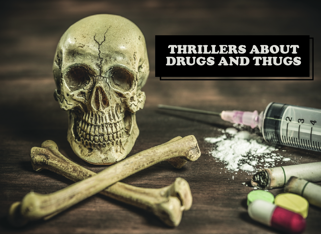 Portraying Drugs and Thugs in Literature - Paul Shemella Cover 5 Month 4